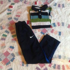 Cool Boys Sz7 Nike/ Green Dog Bundle